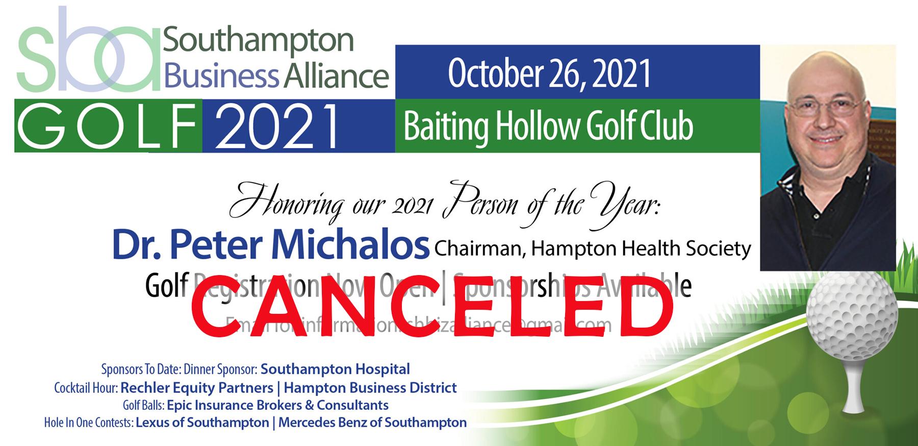 golf cancelled